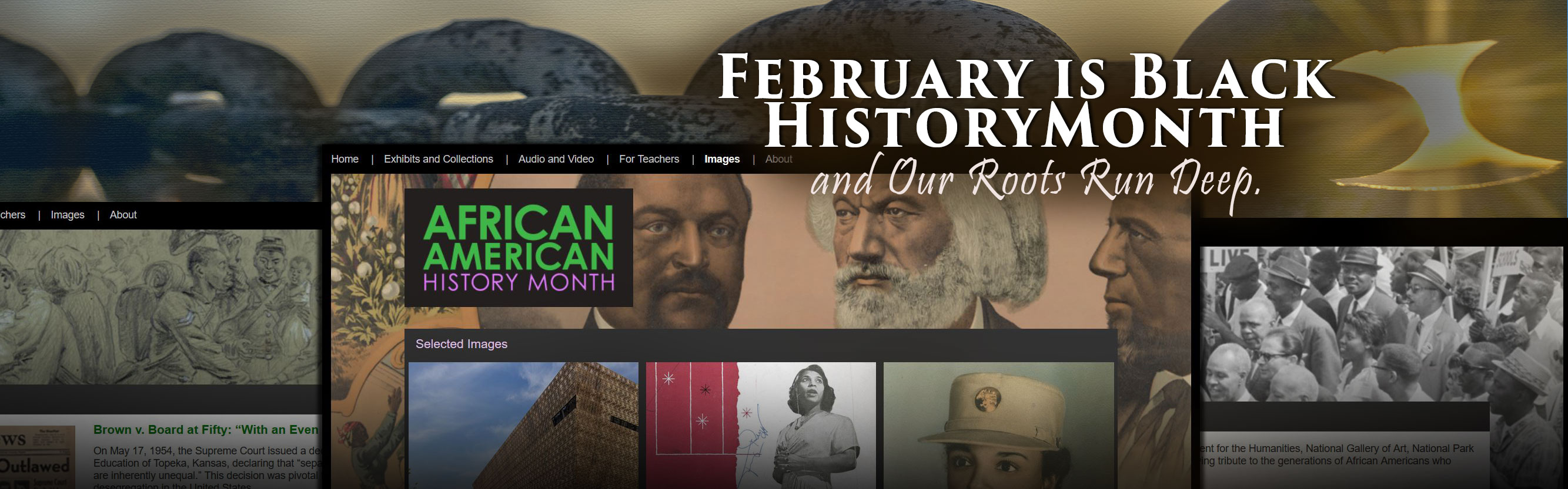 Black History Month + African American History Month .gov