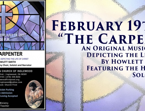 "Special Event – Musical: ""The Carpenter"""