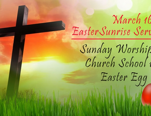 Join us for Easter Service