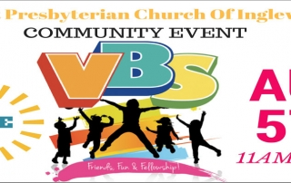 Vacation Bible School (VBS) at Inglewood First Presbyterian Church