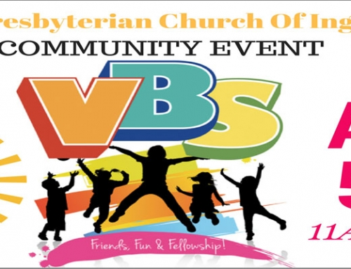 Vacation Bible School – August 5th
