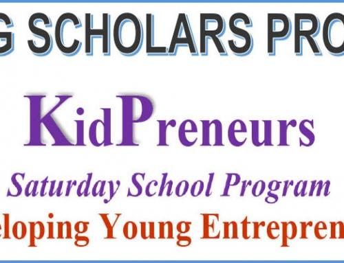 KidPreneurs – Young Schools Program event for kids