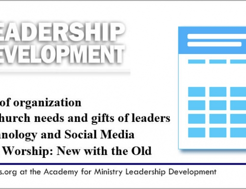 21st Century Tools and Resources for Church Leaders – Feb. 10th