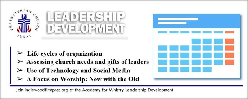 Church Leadership Development - Lydia MacDonald Academy of Ministry of the National Black Presbyterian Caucus (NBPC-SC)