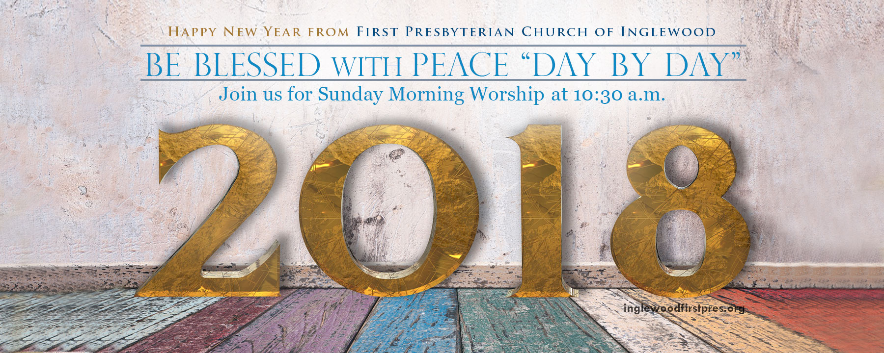 Happy New Year - visit our inglewood church