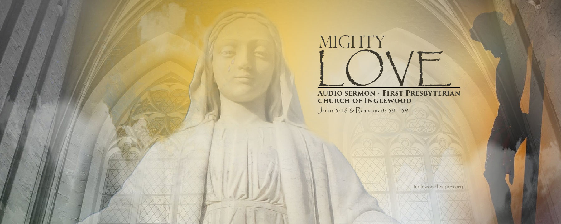 God's mighty love even greater than a Mother's love: Audio Sermon - John 3:16 & Romans 8: 38 - 39