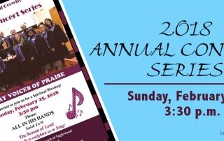 Gospel Music - 2018 Annual Concert Series: Calvary Voices of Praise