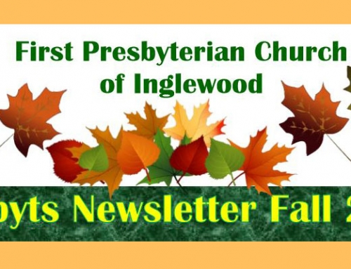 Get the Presbyts Newsletter – Fall Edition 2018