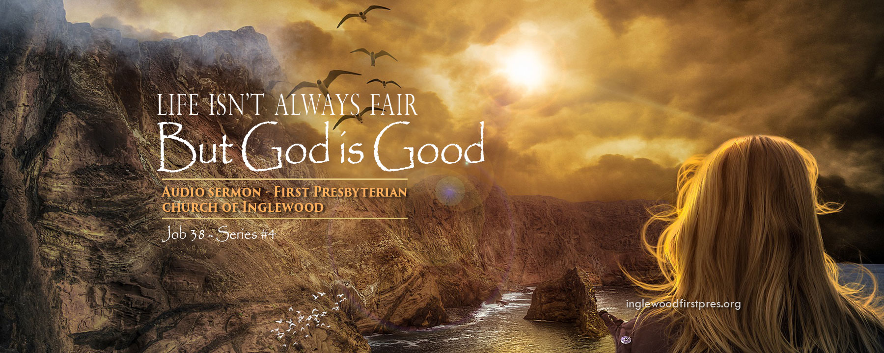 JOB SERIES #4: Life isn't Always Fair, But God is Good by Rev. Dr. Harold E. Kidd (Job 38: 1 – 7; 34 - 41)