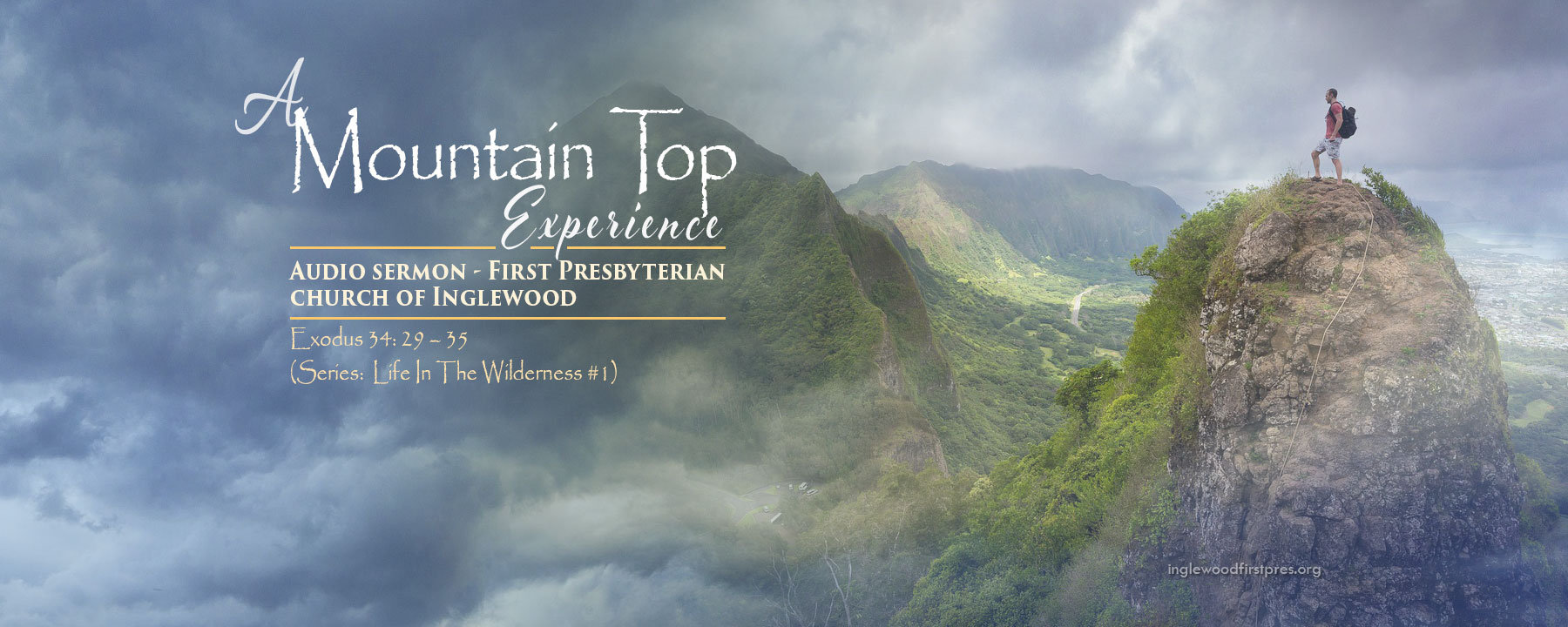 Audio Sermon: A Mountain Top Experience by Rev. Dr. Harold E. Kidd (Exodus 34: 29 – 35)