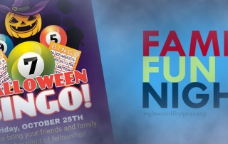 Events in Inglewood, ca (Family Fun Night: Halloween Bingo)