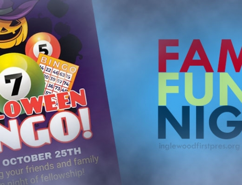 Family Fun Night:  Halloween Bingo Event