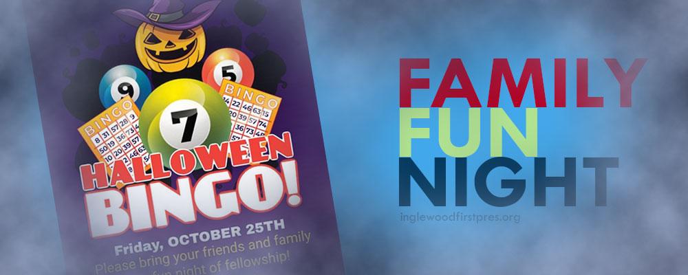 Events in Inglewood, ca (Family Fun Night: Halloween Bingo)
