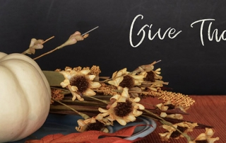 Remember to give thanks! A message from Inglewood First Pres