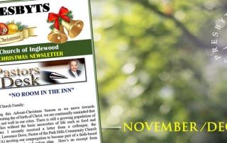 Church Newsletter / The Presbyts: November & December 2019